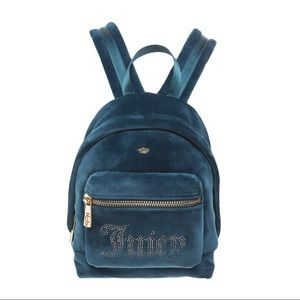 NEW!!Juicy couture mini velour backpack